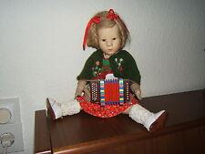 Käthe Kruse Puppe IX - Stoffkopf,  1940er J, 35 cm groß, kompl. Originalzustand