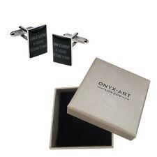 Mens Law Student Cufflinks & Gift Box By Onyx Art