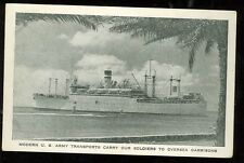 U.S. Army Transports Soldiers to Oversea Garrisons (militaryE#59