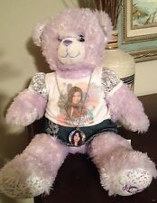 Purple Sparkle I CARLY Build A Bear-l@@k!! -Dressed