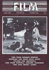 WERNER HERZOG Monthly Film Bulletin Jun 1983