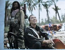 DONNIE YEN SIGNED 11x14 INCH PHOTO DC/COA (ROGUE ONE A STAR WARS STORY) PROOF a