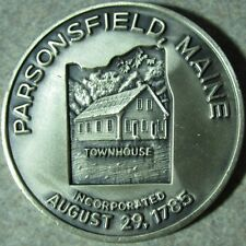 1985 Parsonsfield, ME 200th Anniversary Sterling Silver Medal - Coin Maine