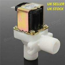 DC 12V Electric Solenoid Valve 1/2 Inch Hose Magnetic Water Air Inlet Flow Switc