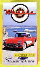 Wheels: Reflections of Stylemakers ~ VHS Movie Video ~ Classic Corvette Car