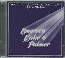 EMERSON LAKE & PALMER - WELCOME BACK MY FRIENDS... / 2CD LIVE SET. ( YES, ASIA )