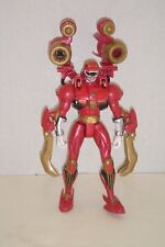 Power Rangers Wild Force Deluxe Red Savage Battle Ranger Complete