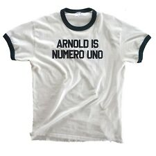 Arnold is Numero Uno Authentic T-shirt from the movie 'Pumping Iron' - X-Large