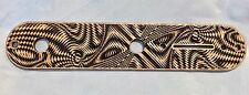 CUSTOM Walla Walla Guitar Company Telecaster CONTROL PLATE Maple Wood Engraved