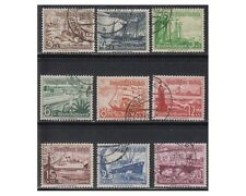 GERMANIA Reich 1937 Soccorso Invernale navi-Winter Aid stamps ship 9v us F284