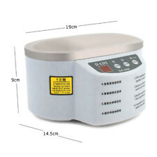 Mini Ultrasonic Cleaner Bath for Cleanning Jewelry Watch Glasses EU / US W/T LED