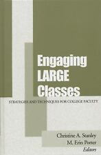 Engaging Large Classes: Strategies and Techniques for College Faculty, , Very Go