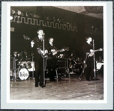 THE BEATLES POSTER PAGE . 1963 IRELAND JOHN LENNON PAUL GEORGE RINGO . H13