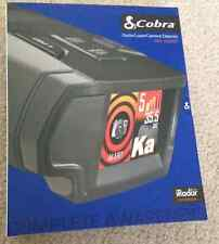 Cobra SPX-7800BT Radar Laser Detector Bluetooth iRadar Voice Speed Police Camera