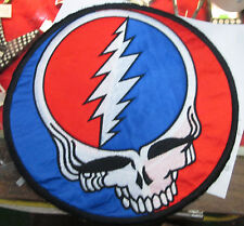 GRATEFUL DEAD COLLECTABLE RARE PATCH EMBROIDED GARCIA SUPER LARGE