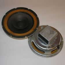 "pair of XAM 8"" full-range drivers with whizzer cones—Electro-Voice, 1968—superb"