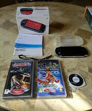 Sony Playstation Portable PSP 3000 3004 PB Model GB EUROPEAN Bundle Tested