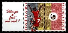 Fußball. EM-2000, Niederlande-Belgien. 2W+Zf. Belgien 2000