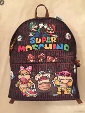 Moschino SS16 Jeremy Scott Super Moschino Super Mario Nintendo Backpack LMT