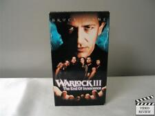 Warlock III: The End of Innocence (VHS, 1999) Ashley Laurence Boti Ann Bliss