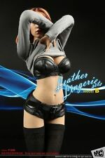 MC Toys F-049 1/6 Woman Leather Lingerie sets B For Phicen Seamless Body