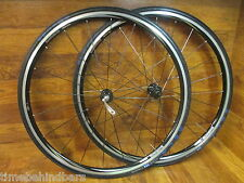 SHIMANO WH-R500 10 SPEED CLINCER WHEEL SET NEW SERFAS SECA 700 x 23C