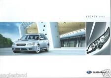 Auto Brochure - Subaru - Legacy - 2007  (AB702)