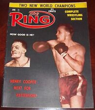 The Ring Magazine  June 1961 Henry Cooper Collectable