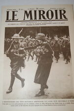 GUERRE 14 18-WW 1-LE MIROIR N°242 FETE NATIONALE AMERICAINE INDEPENDANCE DAY