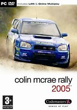 Colin mcrae 2005-pc game-new & sealed (rallye, racing, voiture, conduite)