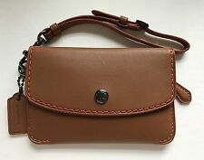 Coach 1941 Collection Glove Tan Envelope Key Case Small Wallet F65268 NEW Saddle