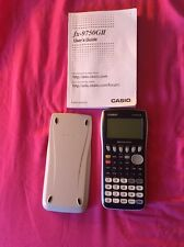 Casio FX-9750GII Graphing Calculator - with protector - Excellent Condition