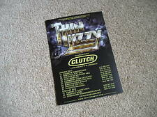 THIN LIZZY - lovely colour tour flyer (Mint) CLUTCH