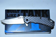Kershaw Zero Tolerance 0566CF Hinderer folder Carbon Fiber Handle Knife USA