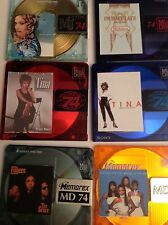 6 Recordable Mini Discs   74 Minute   GREAT Selection!