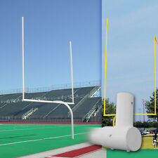 Alumagoal Official High School Gooseneck Goalpost (1 PAIR)
