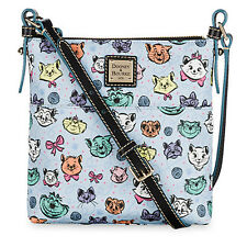 Dooney & Bourke Disney Park CAT Letter Carrier Crossbody Bag Cheshire Aristocats