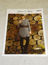 JAMES C BRETT ARAN WAISTCOAT KNITTING PATTERN JB099 FREE UK POST