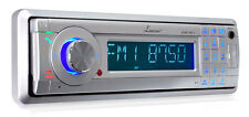 New Lanzar In-Dash Marine Detachable Face USB/SD AM/FM Stereo Player W/Bluetooth
