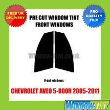 CHEVROLET AVEO 5-DOOR 2005-2011 FRONT PRE CUT WINDOW TINT