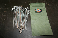 Tent Peg Rope Bag 250mm Australian Made with Australian Canvas