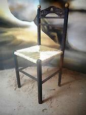 Presepe artigianale Napoletano SEDIA Chair Silla Stuhl stoel Pastori Krippe