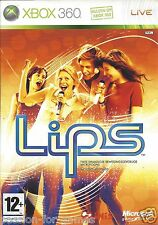 LIPS for Xbox 360 - with box & manual - PAL