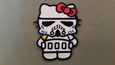hello kitty stormtrooper embroidered patch