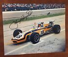 Johnny Rutherford Signed Indy 500 Indianapolis 8 X 10 Photo Autographed 1968