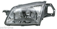 New Replacement Headlight Assembly LH / FOR 1999-00 MAZDA PROTEGE