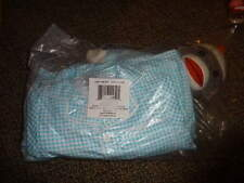 NEW NIP CRE8TIONS 2T 3T BLUJE GINGHAM PJS AND SOCK MONKEY