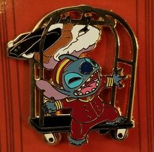 DISNEY PIN LE THE TWILIGHT ZONE TOWER OF TERROR EVENT STITCH BELLHOP CART