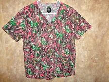 MED COUTURE SCRUB TOP SIZE M (2 POCKETS) STYLE:8456  SWDG