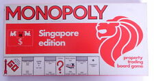 Monopoly Board Game Special RARE Singapore Edition Waddintons Lions Head 1987 R1